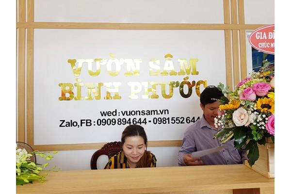 Chào mừng thêm một thành viên mới của Vườn Sâm tại Bình Phước