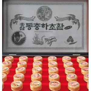 Đông Trùng Hạ Thảo Hàn Quốc Hộp 30 Viên Mới