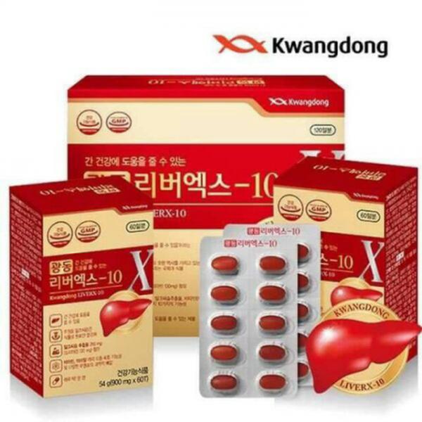 Bổ Gan Và Giải Độc Gan Kwangdong LiverX-10
