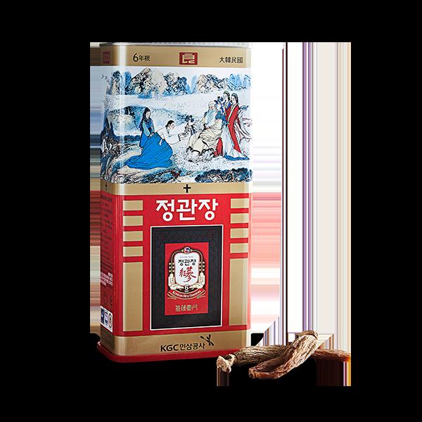 Hồng Sâm Củ Khô 37,5g PCS40 Chính Phủ Hàn Quốc KGC Cheong Kwan Jang