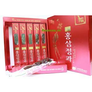 Hồng Sâm Nguyên Củ Tẩm Mật Ong Cao Cấp Hàn Quốc  KGS 300g x 6 Củ