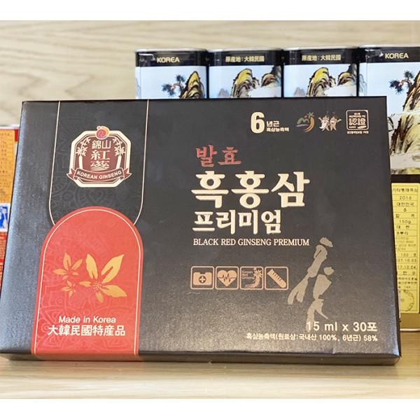 Nước Hắc Sâm Cao Cấp Hàn Quốc Dongjin 15ml x 30 Gói