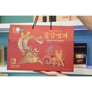 Nước Hồng Sâm Linh Chi Hàn Quốc Pocheon 30 Gói x 70ml