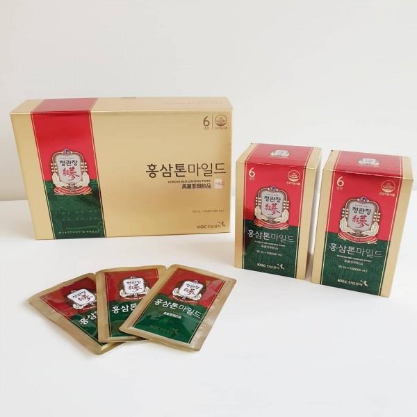 Nước Hồng Sâm Dạng Gói KGC Cheong Kwan Jang Tonic Mild (60 Gói)