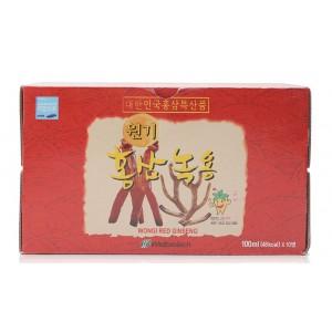 Nước Hồng Sâm Nhung Hươu Hàn Quốc Wongi Red Ginseng 10ml x 10 Lọ