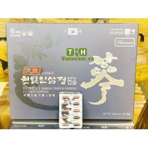 Viên Thiên Sâm Hàn Quốc 600mg x 720 Viên Heaven 1 Korean Taekuk Ginseng Etraxct Capsule Platinum