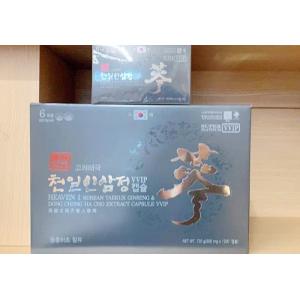 Viên Thiên Sâm Đông Trùng Hạ Thảo 720 Viên Heaven 1 Korean Taekuk Ginseng Dong Chung Ha Cho Extract Capsule Vvip