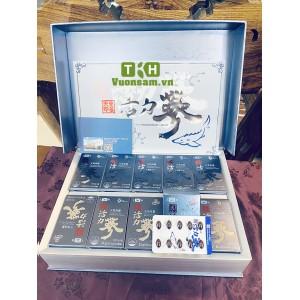 Viên Thiên Sâm Kết Hợp Trứng Cá Tầm 720 Viên Hwang Sam Chun Hwallyeoksam Capsule