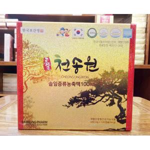 Tinh Dầu Thông Đỏ Cao Cấp Của Chính Phủ Hàn Quốc Cheon Song Won 120 Viên