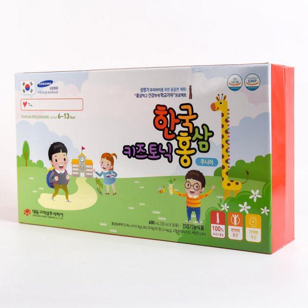Hồng Sâm Trẻ Em 6 - 13 Tuổi Korean Red Ginseng junior