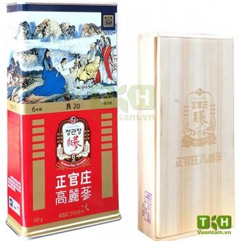 Hồng Sâm Củ Khô Hàn Quốc KGC 300g PCS20