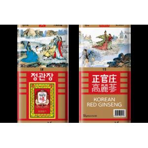 Thiên sâm củ khô hộp thiếc KGC Cheong Kwan Jang Korean Red Ginseng Roots – Heaven thượng hảo hạng.
