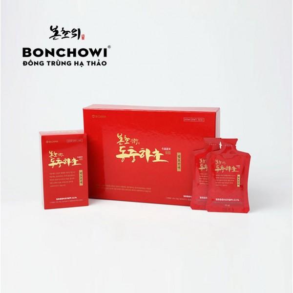 Nước đông trùng hạ thảo tinh chất lên men Bonchowi Hàn Quốc (Red)