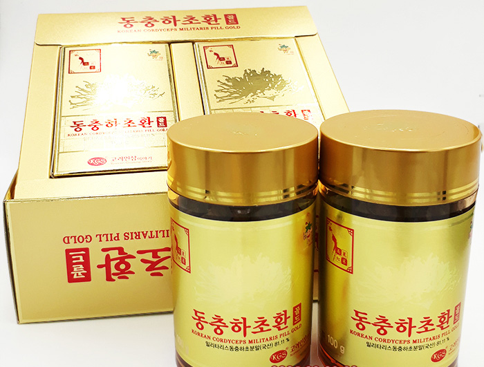 Viên đông trùng hạ thảo Hàn Quốc KGS 100g x 2