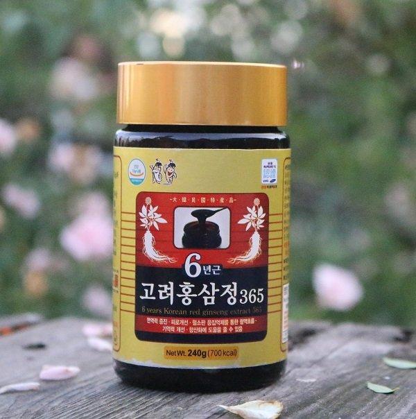 Cao Hồng Sâm 365 Hàn Quốc 240g x 4