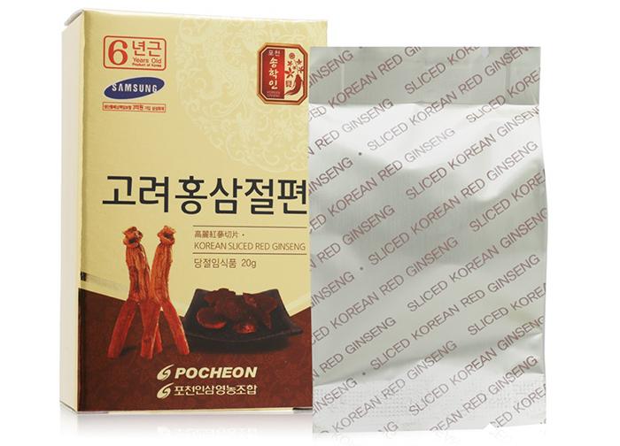 Hồng Sâm Lát Pocheon