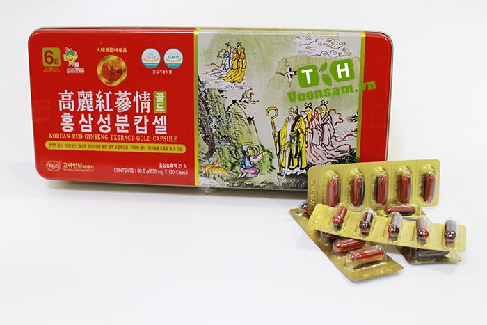 viên hồng sâm Hàn Quốc 120 viên