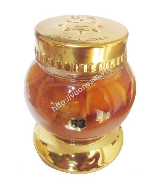 nhân sâm ngâm mật ong