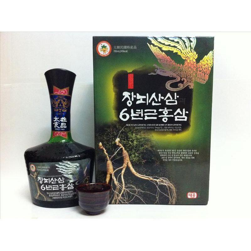 Nước Nhân Sâm Núi Hàn Quốc 700ml