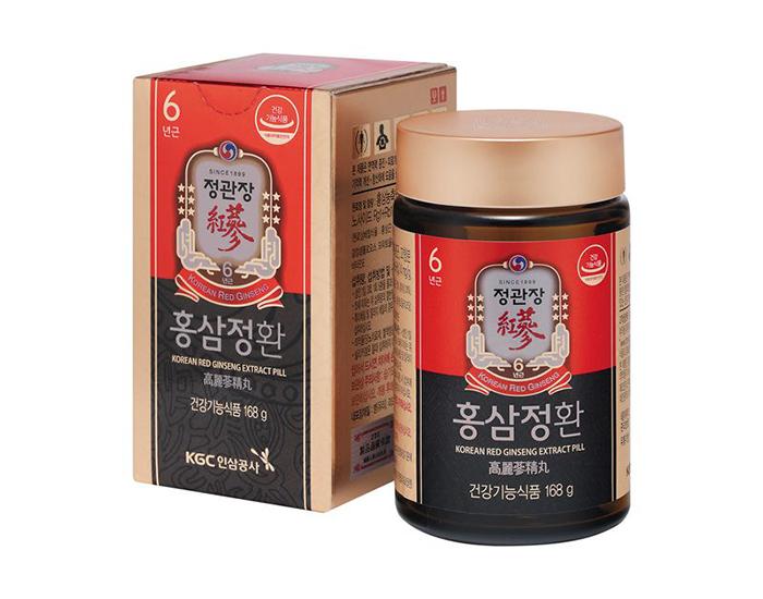 Viên Cô Đặc Tinh Chất Hồng Sâm Hàn Quốc 168g KGC