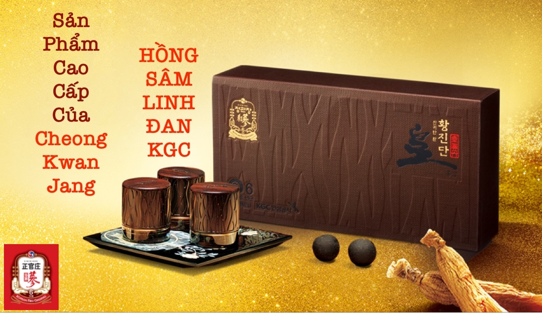 Hồng Sâm Linh Đan KGC Cheong Kwan Jang Hwangjindan 3 Viên